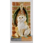 FIGURINE CHAT MOUILLE COMIC CURIOUS CATS