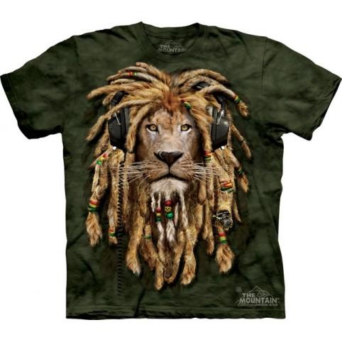 TEE SHIRT LION DJ