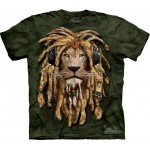 TEE SHIRT LION DJ