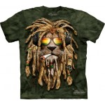 TEE SHIRT LION JAMAICAIN