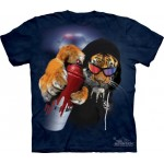 TEE SHIRT TIGRE GRAFFITI