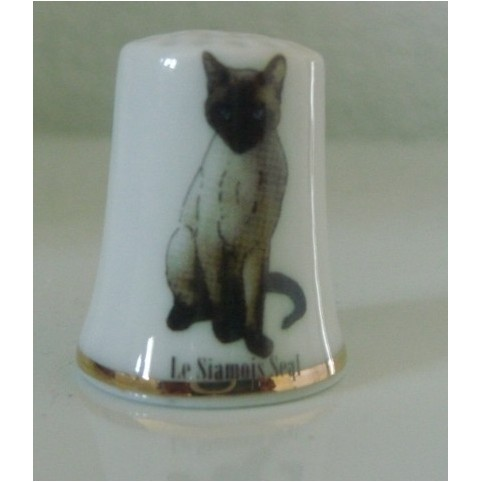 DE DE COLLECTION CHAT SIAMOIS SEAL