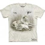 TEE SHIRT LION ET LIONNE