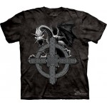 TEE SHIRT DRAGON CROIX CELTIQUE