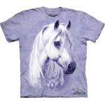 TEE SHIRT ENFANT CHEVAL BLANC