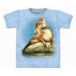 TEE SHIRT ENFANT LOUTRES