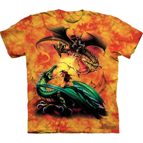 TEE SHIRT ENFANT DRAGONS LE DUEL
