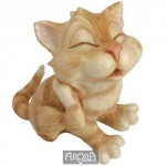 FIGURINE CHAT RIGOLO MARMALADE