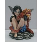 FIGURINE FEE ROSA