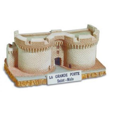 FIGURINE GRANDE PORTE DE SAINT MALO