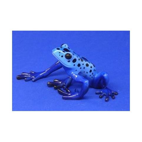 FIGURINE GRENOUILLE BLEUE - DENDROBATUS AZUREUS