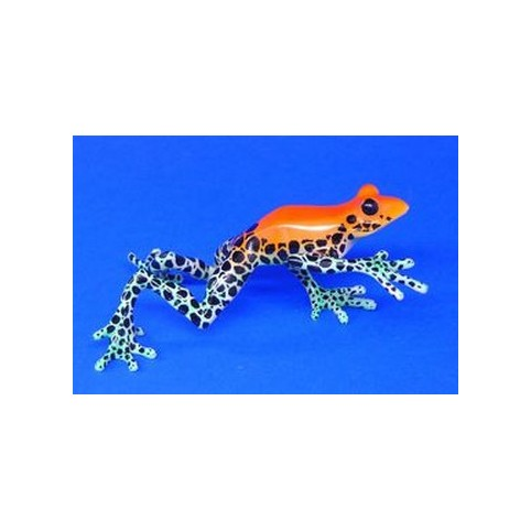 FIGURINE GRENOUILLE ORANGE
