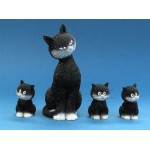 FIGURINE CHAT DUBOUT L ALIGNEMENT