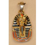 PENDENTIF TOUTANKHAMON AVEC SA CHAINE
