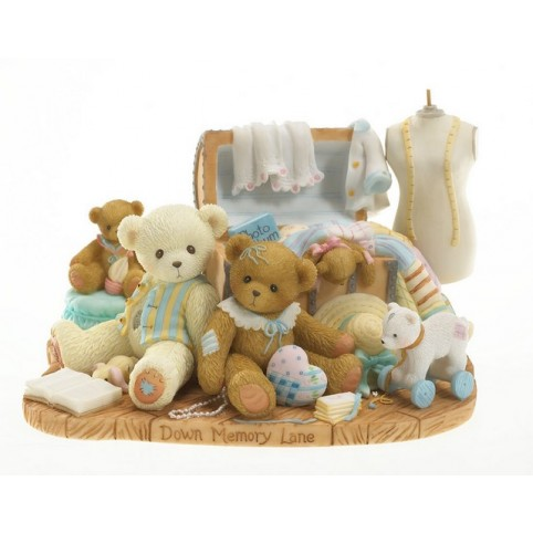 STATUETTE OURS CHERISTED TEDDIES RACHEL