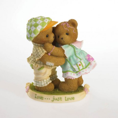 FIGURINE OURS CHERISHED TEDDIES LLOYD ET BARBARA
