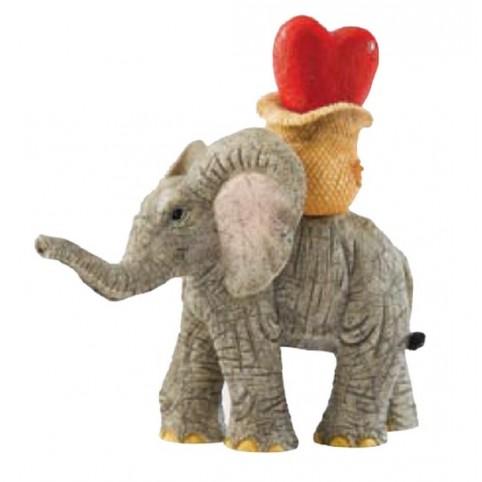 FIGURINE ELEPHANT...LOVE IS YOU STOLE MY HEART