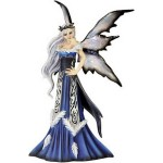 FIGURINE FEE AMY BROWN REINE DE L HIVER