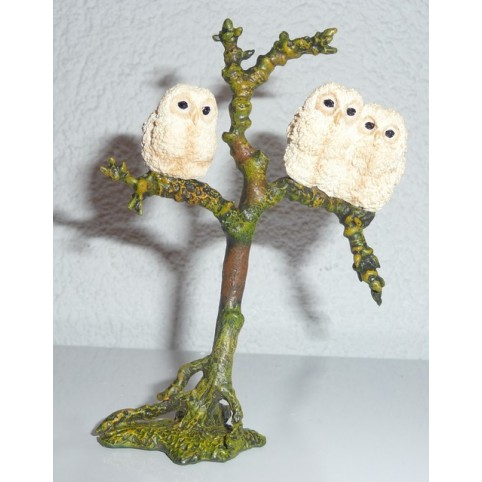 FIGURINE CHOUETTES BEBES