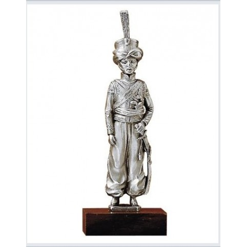 "FIGURINE SOLDAT ""OFFICIER MAMELUCKS"" ETAINS DU PRINCE"