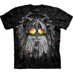 TEE SHIRT CHAT RASTA