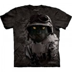 TEE SHIRT PANTHERE NOIRE MILITAIRE