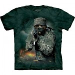 TEE SHIRT BOXER MILITAIRE