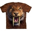 TEE SHIRT ENFANT TIGRE A DENTS DE SABRE