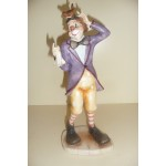 MINI STATUETTE CLOWN MAGICIEN
