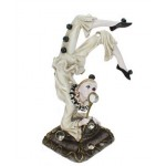 MINI STATUETTE CLOWN ARLEQUIN EQUILIBRE