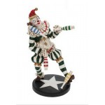 MINI STATUETTE CLOWN JONGLEUR