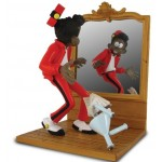 FIGURINE SPIROU LE RAYON NOIR LEBLON DELIENNE