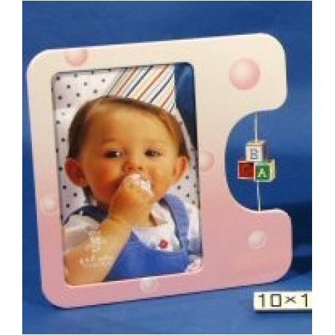 CADRE PHOTO ROSE ENFANT