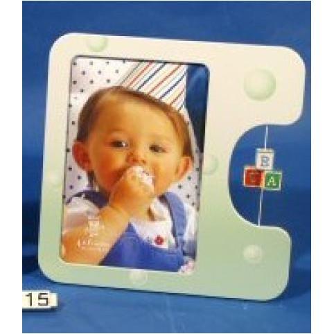 CADRE PHOTO VERT ENFANT