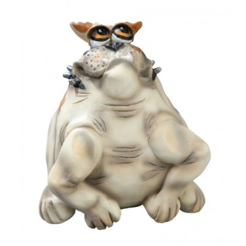 FIGURINE BOULEDOGUE MAUVAIS GOEBEL