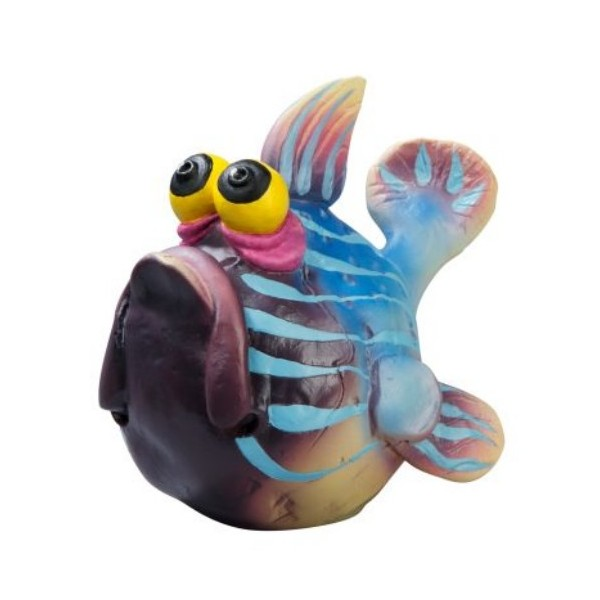 figurine poisson plein de couleurs goebel. Black Bedroom Furniture Sets. Home Design Ideas