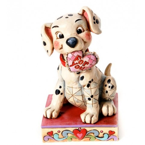 FIGURINE LUCKY IN LOVE - LES 101 DALMATIENS