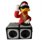 FIGURINE DONALD DISC JOKEY