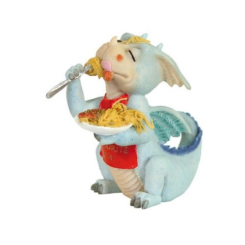 FIGURINE DRAGON GOURMAND