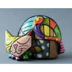FIGURINE CHAT TIM - ROMERO BRITTO