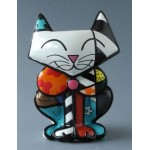 FIGURINE CHAT SAM - ROMERO BRITTO