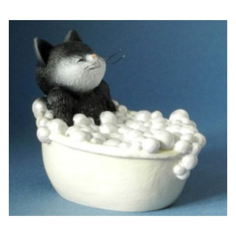 FIGURINE CHAT PURR-FECT