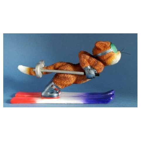FIGURINE CHAT COOL CAT