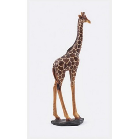 sculpture bois girafe