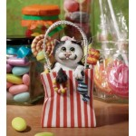 FIGURINE CHAT AVEC FRIANDISES - COMIC CURIOUS CATS