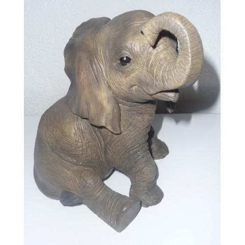STATUETTE ELEPHANTEAU