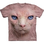 TEE SHIRT CHAT SPHYNX SANS POILS