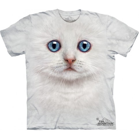 TEE SHIRT CHATON IVOIRE