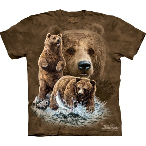 TEE SHIRT OURS TROUVEZ 10 OURS