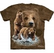 TEE SHIRT ENFANT OURS TROUVEZ 10 OURS
